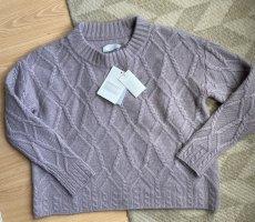 Ca'vagan Kaszmirowy sweter stary róż