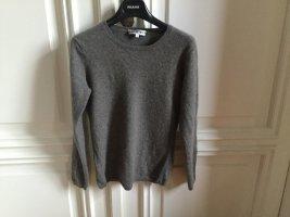 grappa Kaszmirowy sweter szary-beżowy