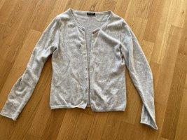 S.Marlon Pullover in cashmere grigio chiaro