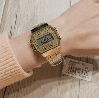 Casio Digitaal horloge goud-zilver