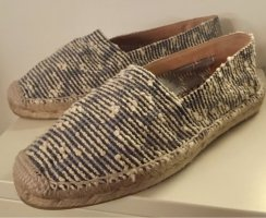 Castañer Espadrille Sandals blue leather