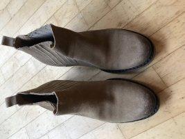 Catarina Martins Slip-on laarzen licht beige-beige
