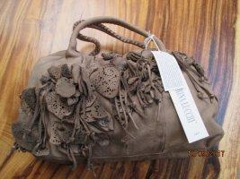 Caterina Lucchi Handbag grey brown leather