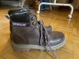 Caterpillar Lace-up Boots multicolored leather