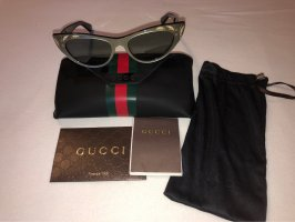 Gucci Butterfly Glasses black-silver-colored