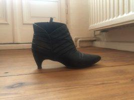 Catherine Malandrino Booties black leather