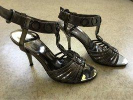 Catwalk High Heels silver-colored-grey