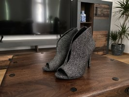 Catwalk High Heels silver-colored-black