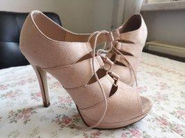 Catwalk Sandalias de tiras rosa claro
