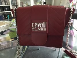 Cavalli Crossbody bag dark red synthetic fibre