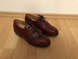 Cavallo Lace Shoes brown-red