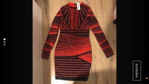 CBR Sukienka mini czerwony-czarny