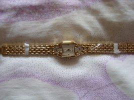 Carpe Diem Reloj con pulsera metálica amarillo neón