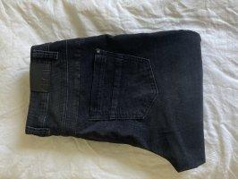 Cecil Pantalone di velluto a coste nero