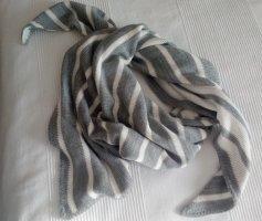 Cecil Bufanda de punto gris-blanco