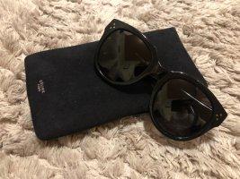 Celine Paris Lunettes de soleil rondes noir