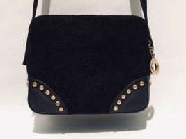 CELINE Crossbody Bag Handtasche schwarzes Wildleder