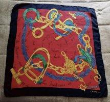Celine Silk Scarf multicolored silk