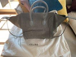 Céline Luggage Phantom bag hellgrau