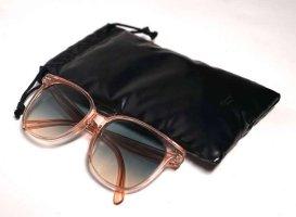 Celine Paris Okulary motylki jasnoniebieski-różany Włókno octanowe