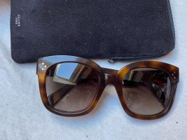 Celine Angular Shaped Sunglasses multicolored
