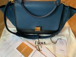 Celine Gekruiste tas zwart-blauw