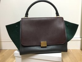 Celine Trapeze Small Bag, Original, Tricolor, Small, Leder, Original