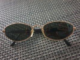 CERRUTTI 1881 Owalne okulary przeciwsłoneczne czarny-złoto