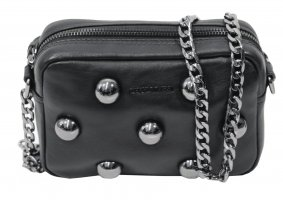 cerruti 1881 Crossbody bag black leather