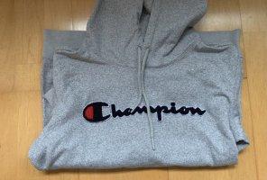 Champion Sweat à capuche gris-gris clair