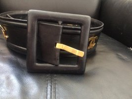 Chanel Belt black leather