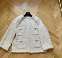 Chanel Blazer Tweed crema