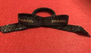 Chanel Bandeau cheveux noir-doré
