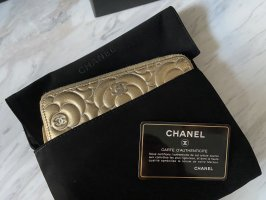 Chanel Wallet gold-colored