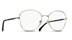 Chanel Glasses gold-colored-white