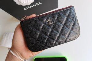 Chanel Mini Bag black-silver-colored