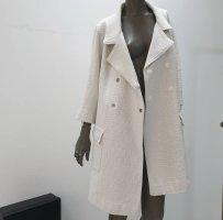 Chanel Cappotto corto bianco sporco