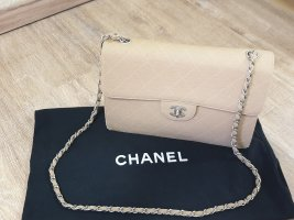 Chanel Borsa a spalla beige-color cammello