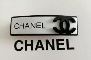 Chanel Barrette blanc-noir