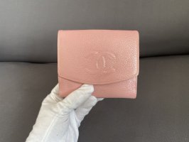 Chanel Portefeuille or rose-rose clair