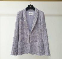 Chanel Blazer tejido azul celeste-rosa