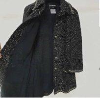 Chanel Giacca taglie forti nero-grigio