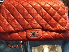 Chanel Borsa a tracolla rosso chiaro Pelle