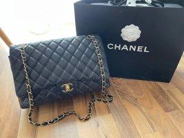 Chanel Sac porté épaule noir-doré