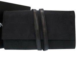 Chanel Bolso de mano negro Algodón