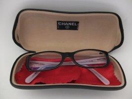 Chanel Bril zwart-lichtroze