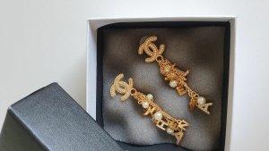 Chanel Bungeloorbellen goud Metaal