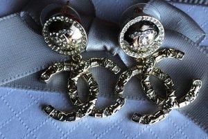 Chanel Kolczyk ze sztyftem złoto Metal