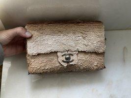 Chanel Handbag gold-colored mixture fibre
