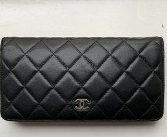 Chanel Portmonetka czarny-bordo